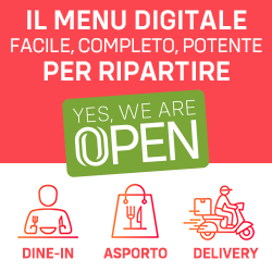 Yes We Are OPEN - Menu Digitale per Ripartire