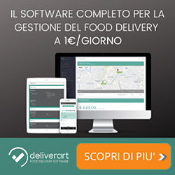 Deliverart - Il Software Complete per la Gestione del Food Delivery